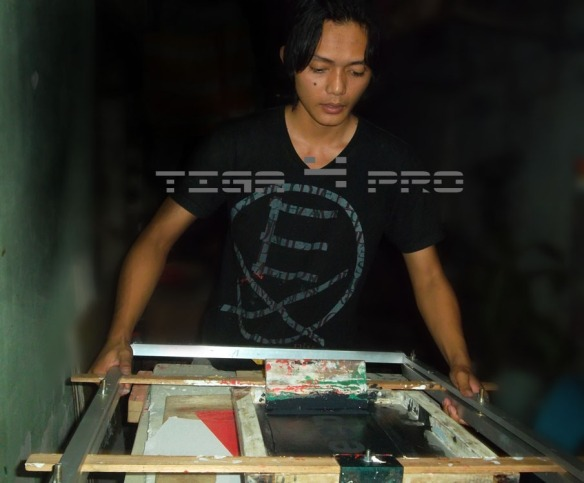 Sablon Manual Surabaya
